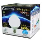LED灯泡 12W(100W相当)1480LM E26 昼白色 DQ12